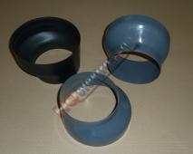 EXCENTRICKÁ ( EXCENTR ) PLASTOVÁ REDUKCE 150/120 ( 150 / 120 ) ( 120 / 150 ) ( 120/150 )  mm  NA ODSAVAČ
