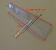 Odklop ( klopka ) nejhornější přihrádky dveří - police kombinované lednice ROMO DRN 396 A+ , CRD 401 A+ , CRN 401 A+