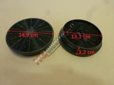 Originální uhlíkový filtr do výsuvného odsavače HOOVER , CANDY - sada  ( 2 kusy )