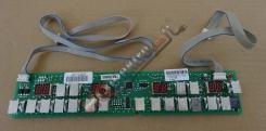 Ovládací elektronika - modul indukční desky BRANDT TI 1082 B ( V ) - pravá strana ( AS0009549 )