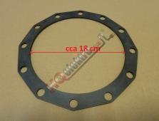 Těsnění příruby bojleru ( ohřívače ) DRAŽICE ( vnitřní průměr 18cm )