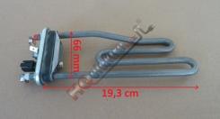 topné těleso do praček BRANDT řady WFK 1018 E , 1248 E , 2448 E ( 2022 W )